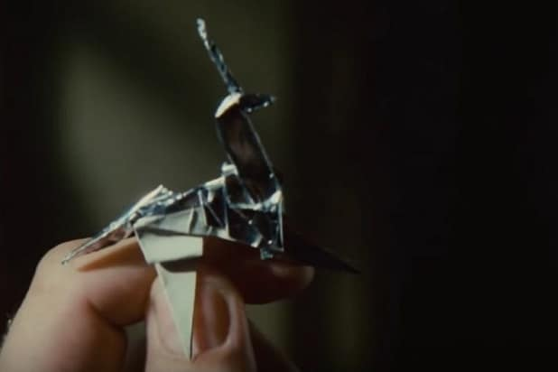 blade runner references unicorn origami
