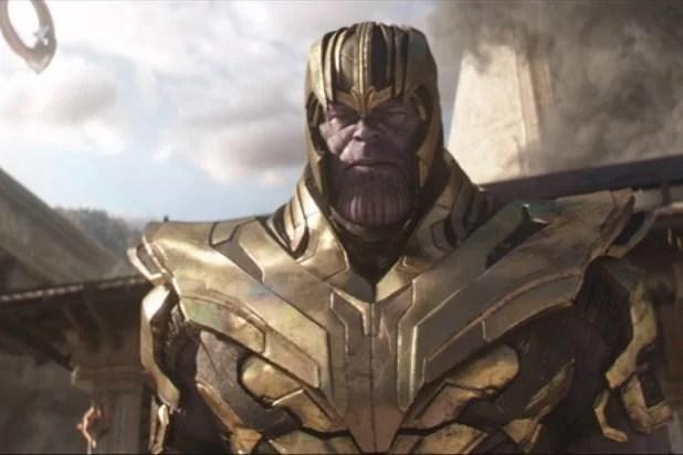 Tony and Thanos