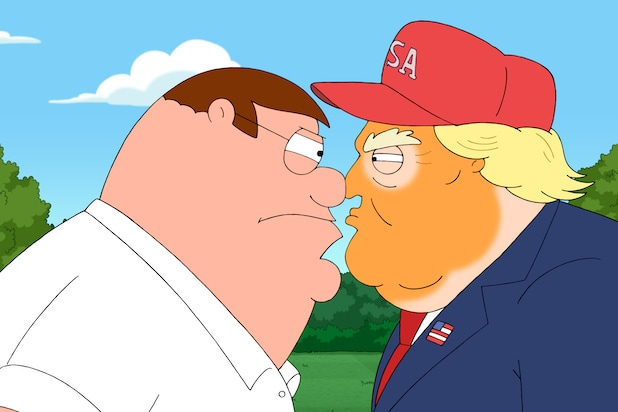 Family Guy Bosses Explain Clearly Offensive Trump Episode Scene
