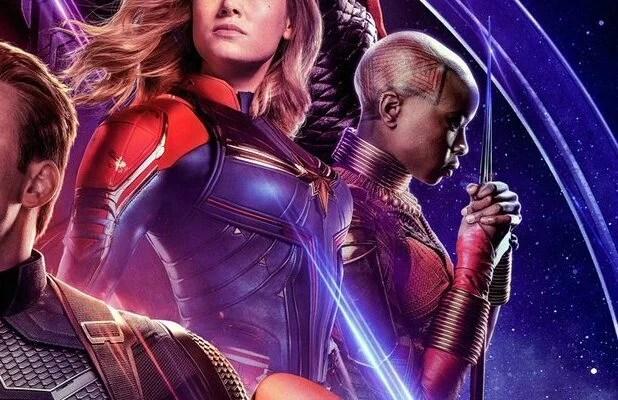avengers endgame poster because okoye