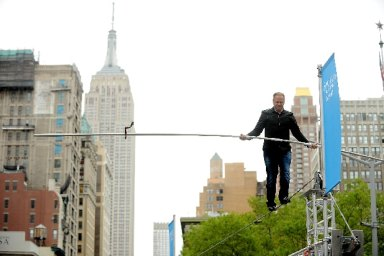 Wallenda Siblings to Cross Times Square on a 25-Story Highwire for Live ABC Special