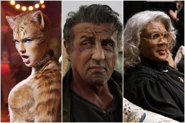 'Cats,' 'Rambo: Last Blood,' Final 'Madea' Film Top Razzie ...