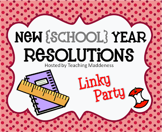 New {School} Year Resolutions…Link Up!
