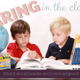 Sharing – Classroom Management Monday