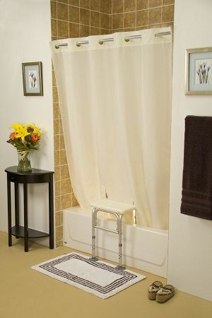 simplicity transfer bench shower curtain