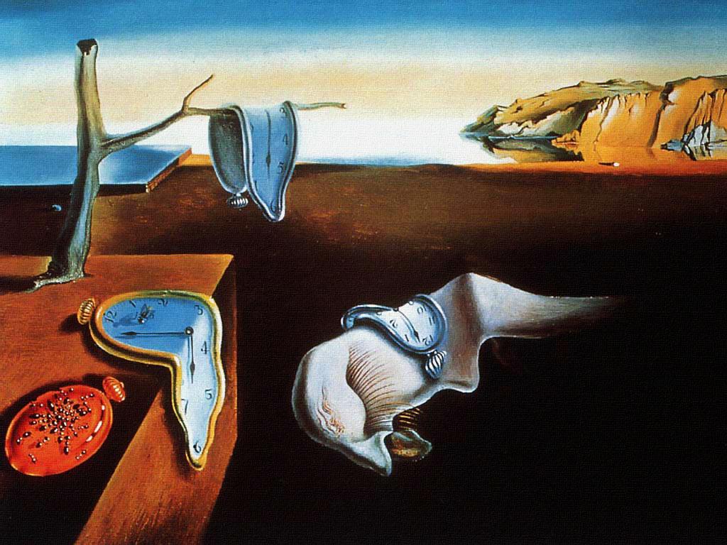Salvadon Dali The Persistence of Memory c. 1931