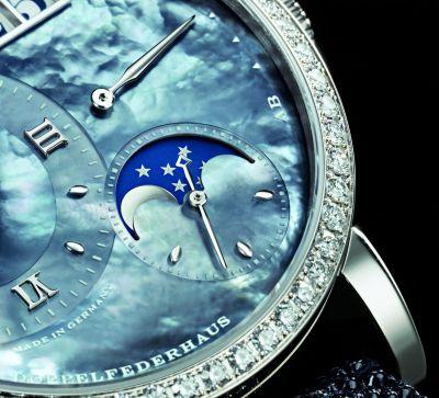 Lange Sohne Little Lange Moonphase Womens Watch detail