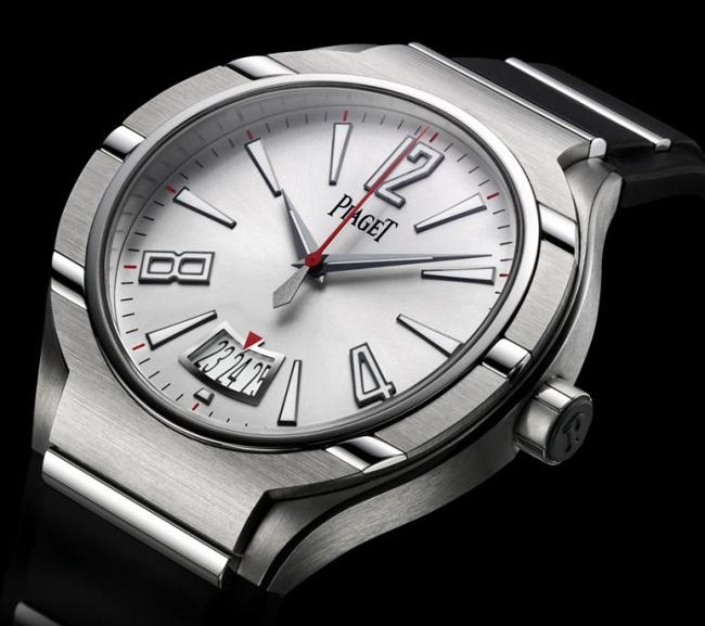 Piaget Polo Fortyfive white mens watch