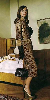 Keira Knightley Fashion Editorial Vogue September wearing Yves saint Laurent