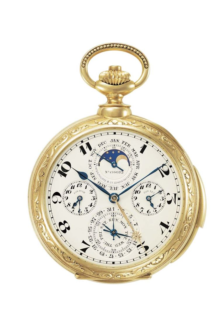 James Ward Packard's Patek Philippe Complicated Pocket Watch