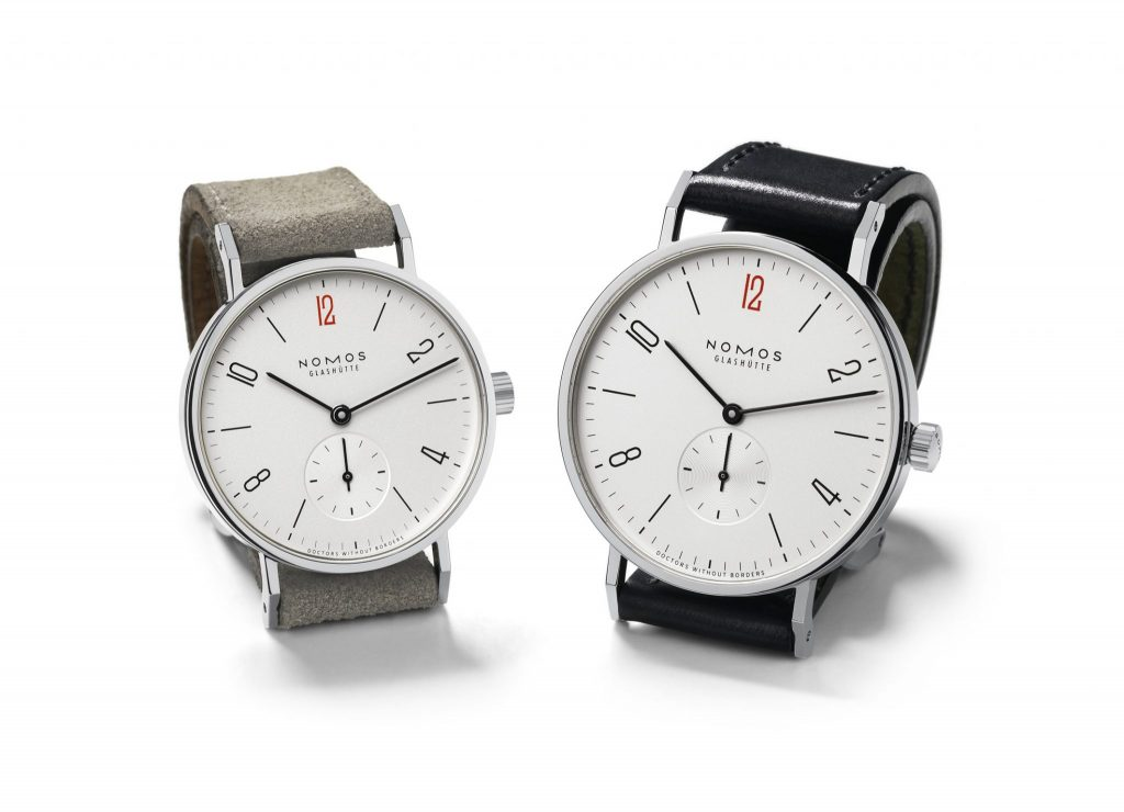 NOMOS Limited Edition Timepieces for Doctors Without Borders