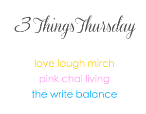 3 Things Thursday Badge