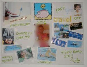 2011 vision board