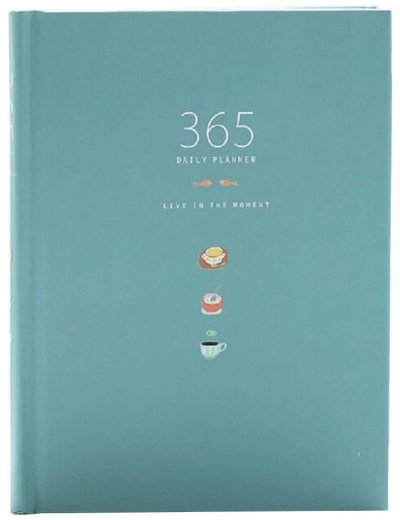 365 daily planner for working day to day