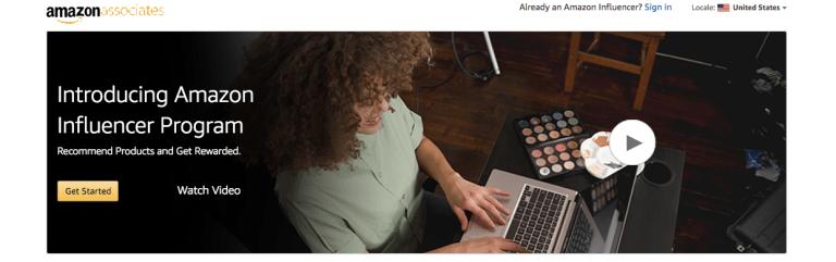 Introducing Amazon Influencer Program