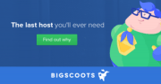start a website with bigscoots