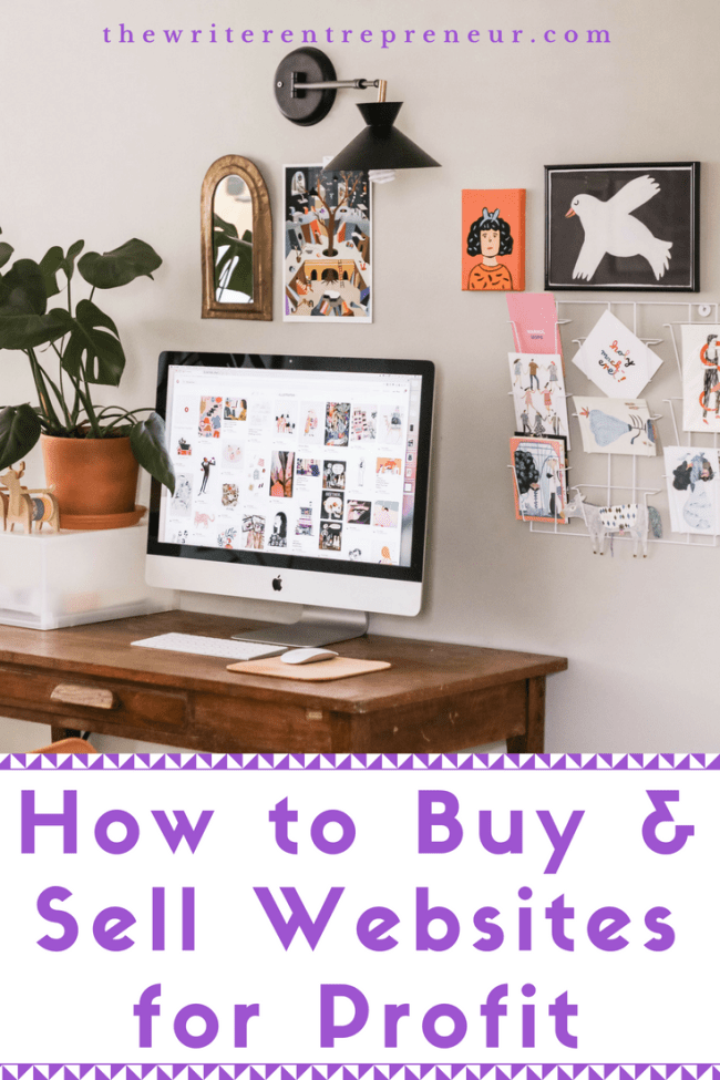How to buy and sell websites for profit