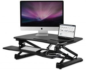 Mount-It! Electric Standing Desk Converter