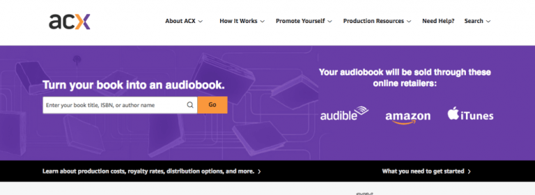 Audiobook Creation Exchange