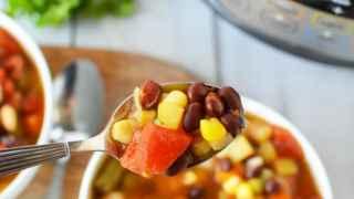 "Instant Pot Vegetable Soup - ""Cantry Soup"""