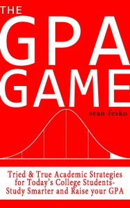 The GPA Game is a short, easy-to-read manifesto for college students looking to raise their GPA.