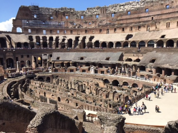 Touring the Colosseum: Seattle Writing Classes.