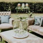 English Garden Wedding Lounge Inspiration Furniture Prop Hire