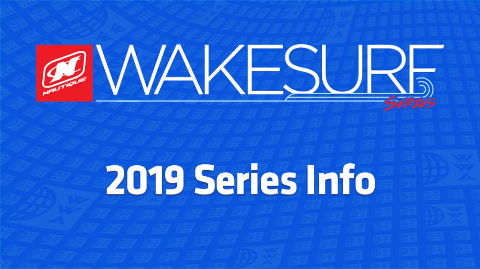 2019 Wakesurf Series Info