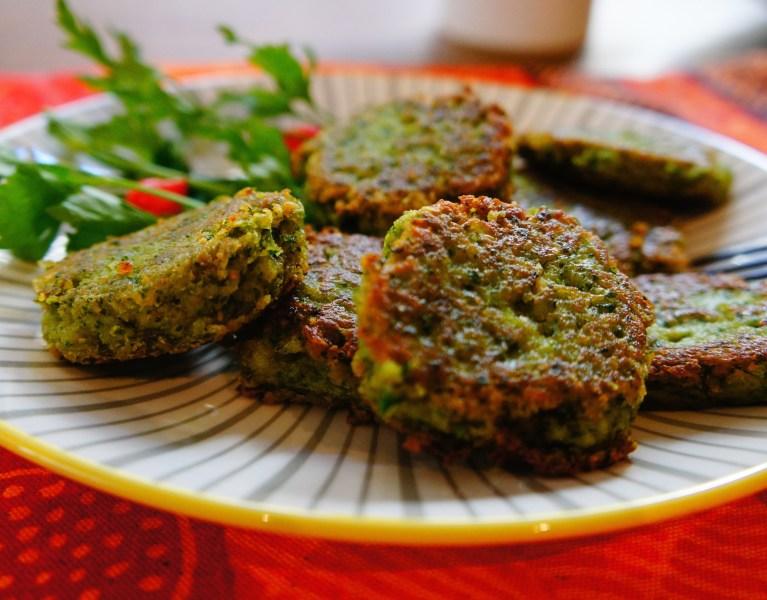 Fresh Vegan Falafel