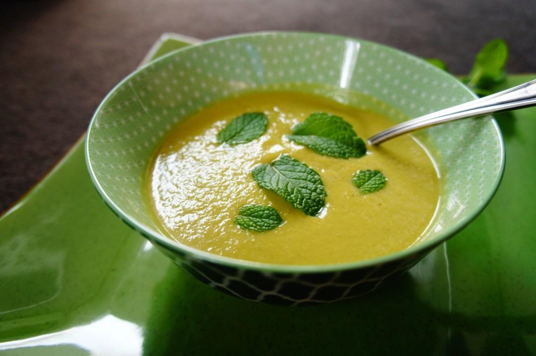 Asparagus & Minted Pea Soup