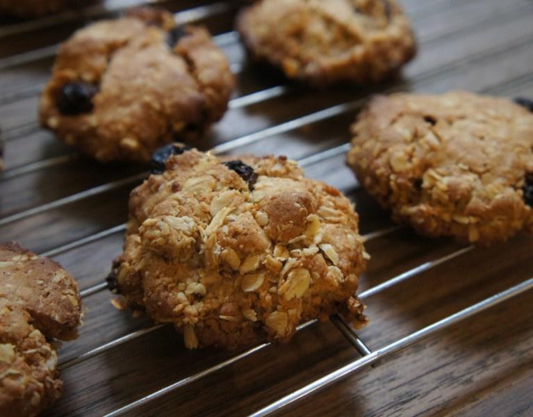 Oat & Sultana Cookies