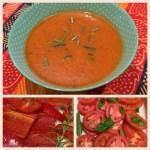 Roast Tomato & Red Capsicum Soup