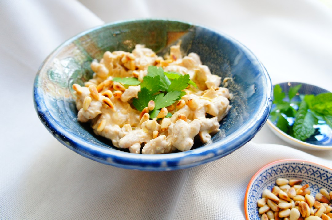 White Beans with Tahini