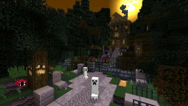 minecraft halloween pic 2