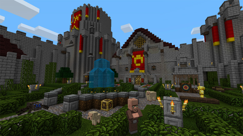 Minecraft Fantasy Texture pack out to purchase now    TheXboxHub