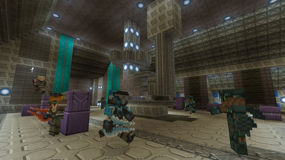Minecraft Halo Mash-up available to download now   TheXboxHub