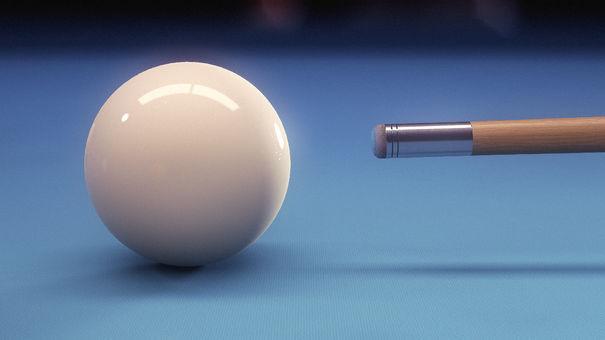 pure pool cue closeup
