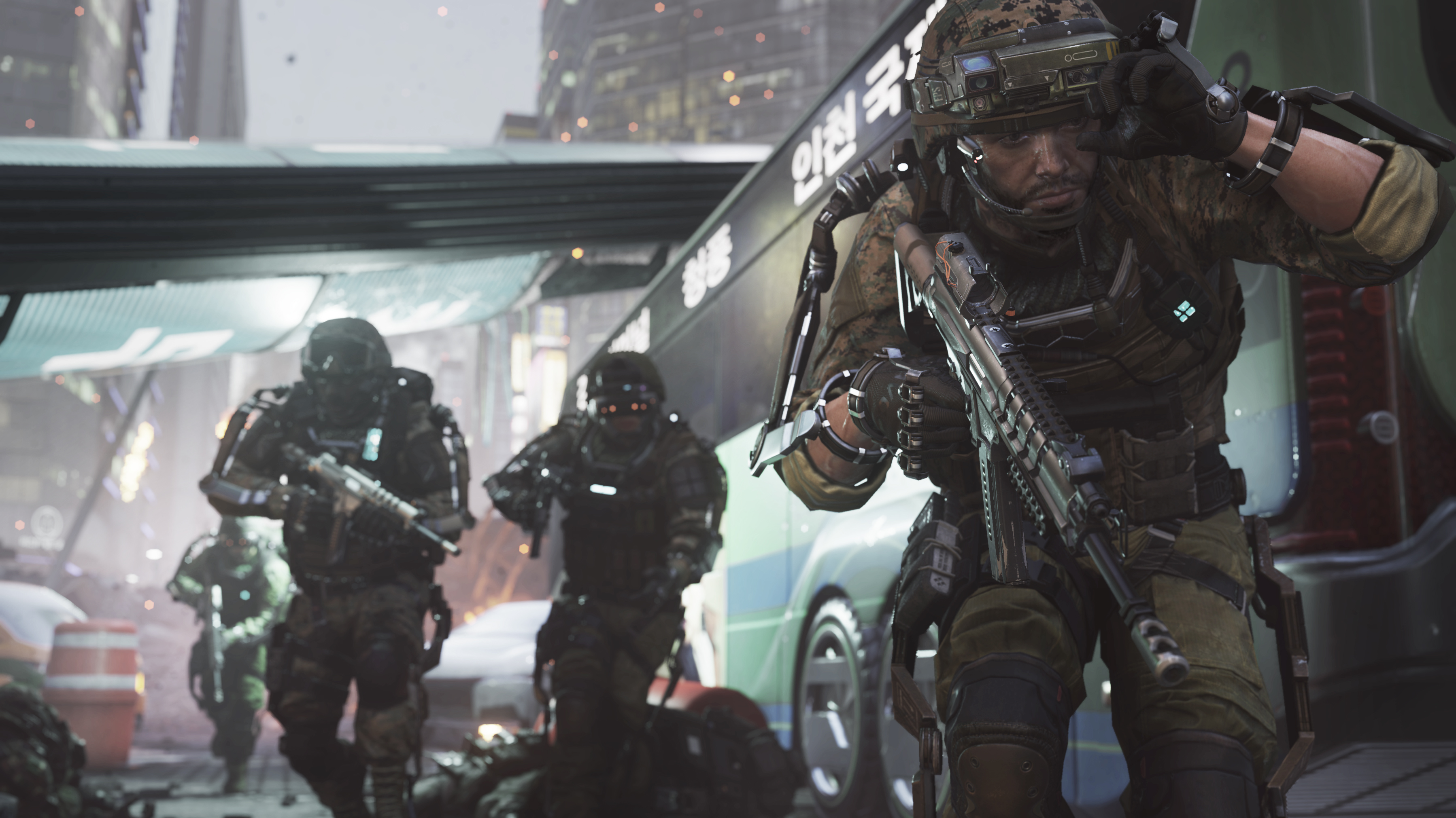 Call Of Duty Advanced Warfare Induction Gameplay Trailer Thexboxhub