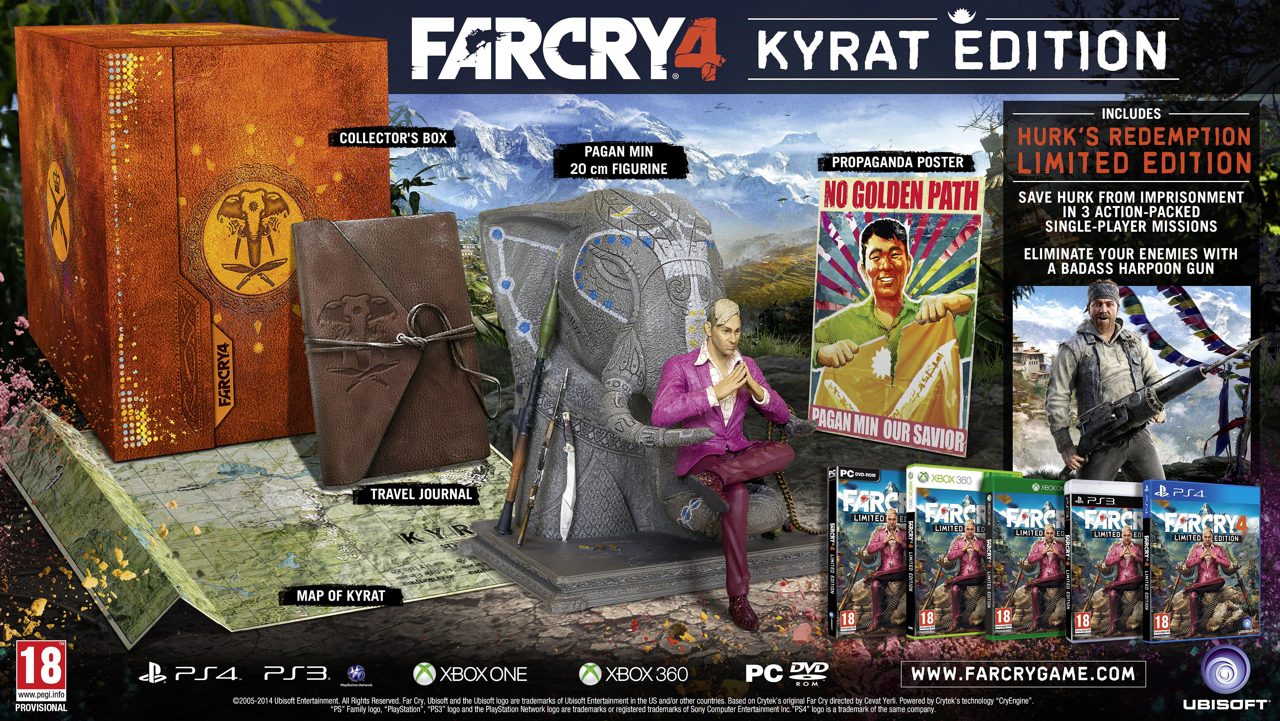 Far Cry 4 Kyrat Edition Details Thexboxhub