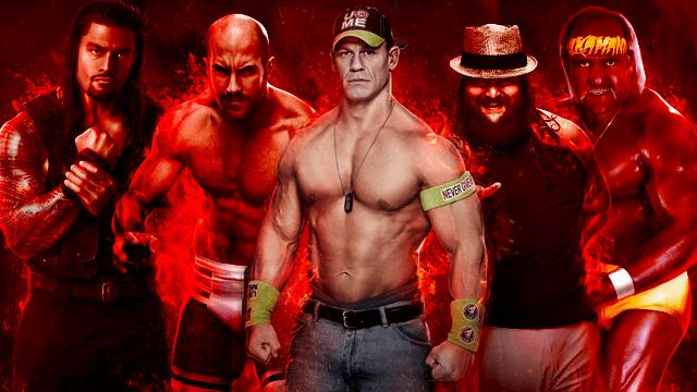 WWE 2k15 Roster Pic 1 Hogan Cena