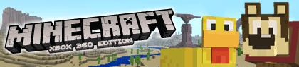 minecraft cartoon banner