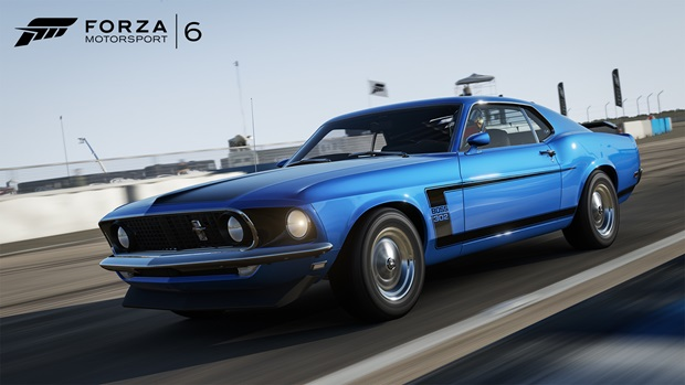 forza 6 ford boss
