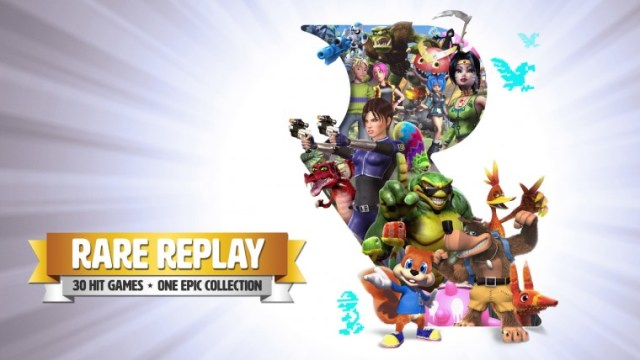rare replay header