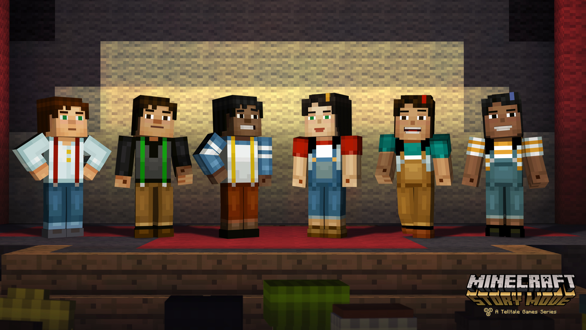Minecraft Story Mode A Telltale Games Series Launches On Xbox