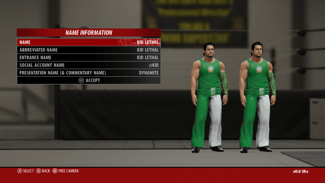 WWE 2K16 Kid