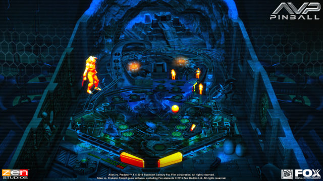Aliens vs Pinball Launch Screenshot - 5