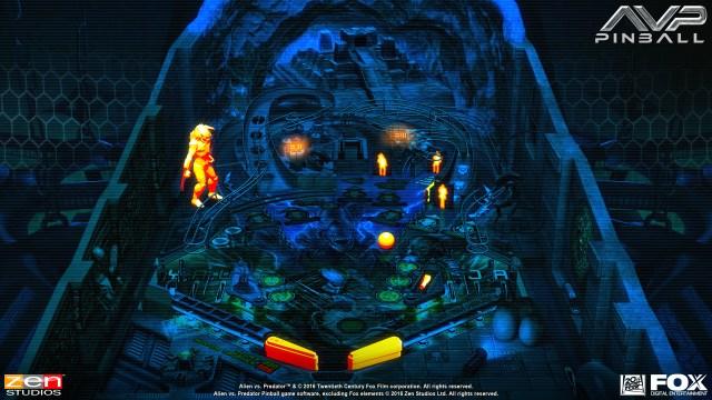 Aliens vs Pinball Launch Screenshot - 5