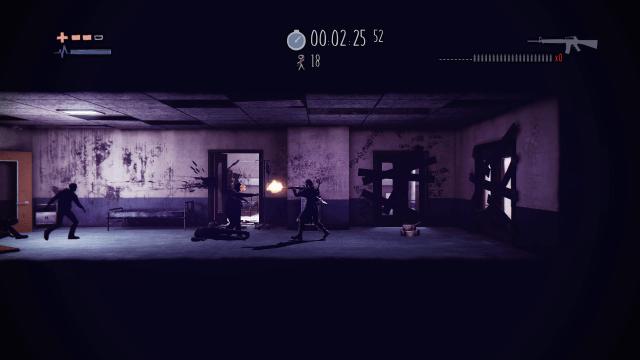 Deadlight Directors Cut Survival Arena Machine Gun Weapon Screenshot 4