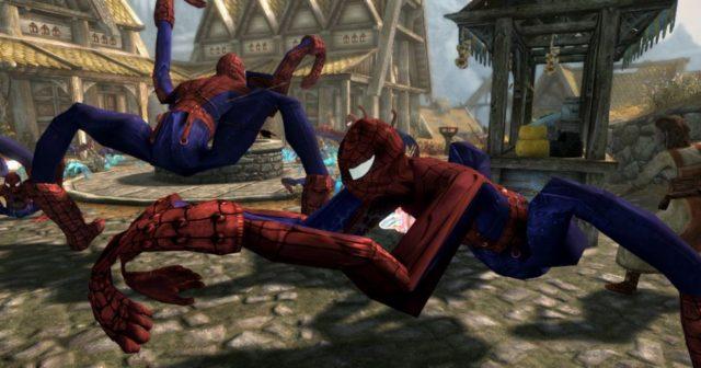 spiderman-skyrim
