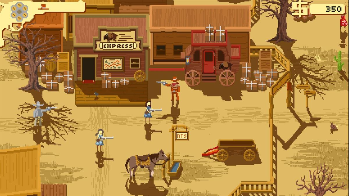 Westerado: Double Barreled brings Spaghetti Westerns to Xbox One